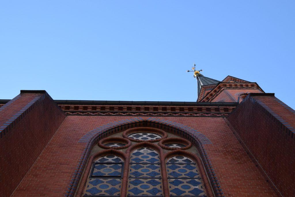 Seitenschiff der St. Pauluskirche in Moabit